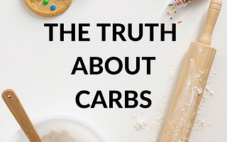 title The Truth About Carbs by savelikeabear cookie, flour and rolling pin