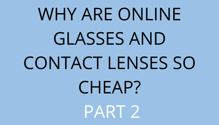 title Why Are Online Glasses And Contact Lenses So Cheap? Part 2 by savelikeabear