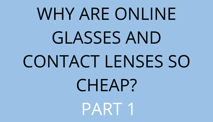 title Why Are Online Glasses And Contact Lenses So Cheap? Part 1 by savelikeabear