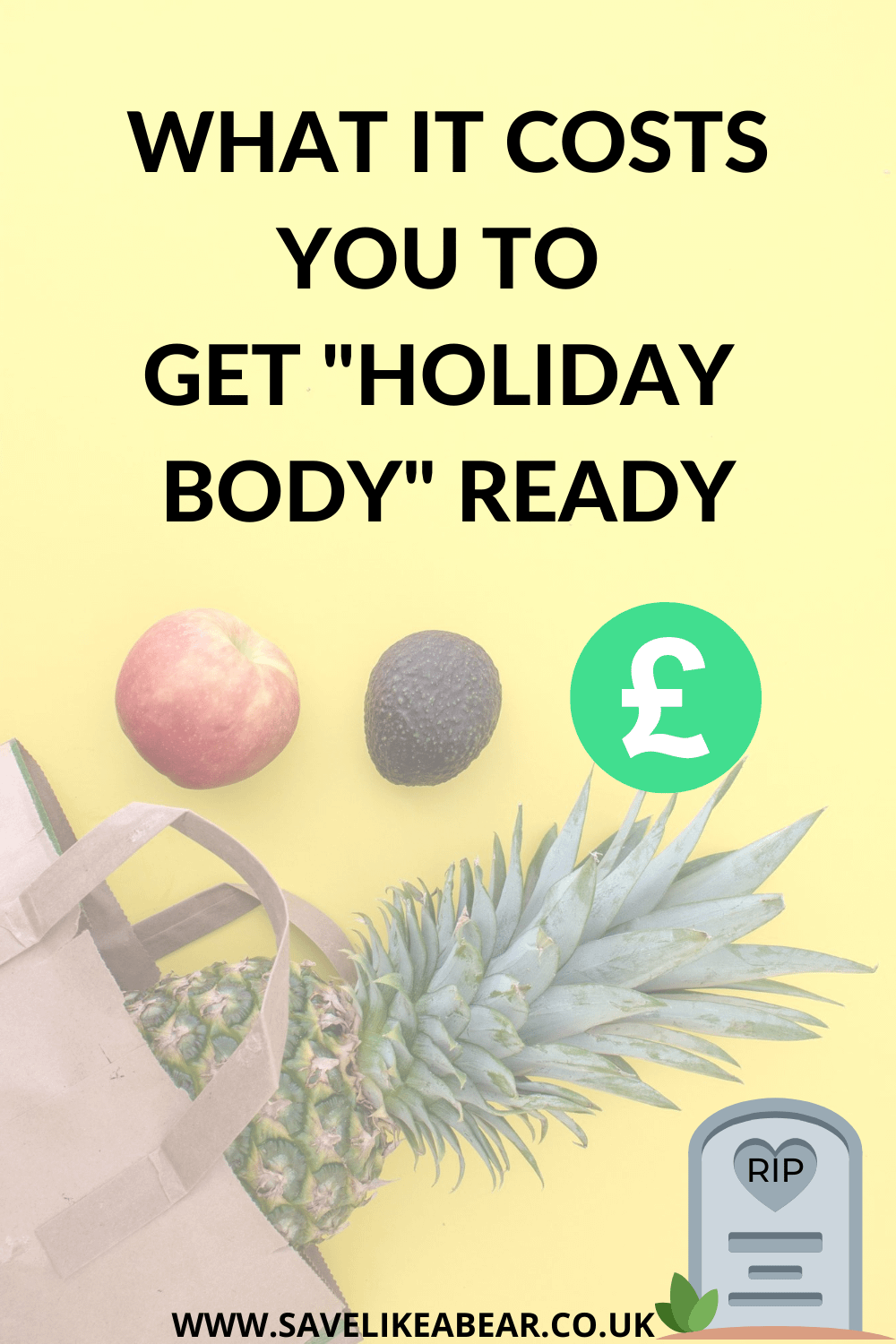 What does it cost you to get holiday body ready